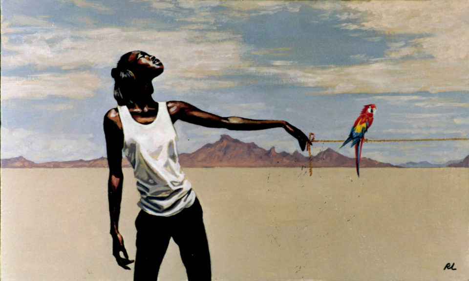 «В пустыне», Рамиль Латыпов, 1998, холст, масло, 70х90см