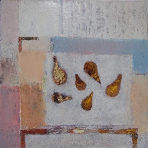 «Груши», Радик Гарифуллин, 2014, холст, масло 50х50