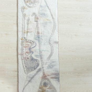 """""""Мелодия степи-II""""(правая часть диптиха), Земфира Гилязова"""