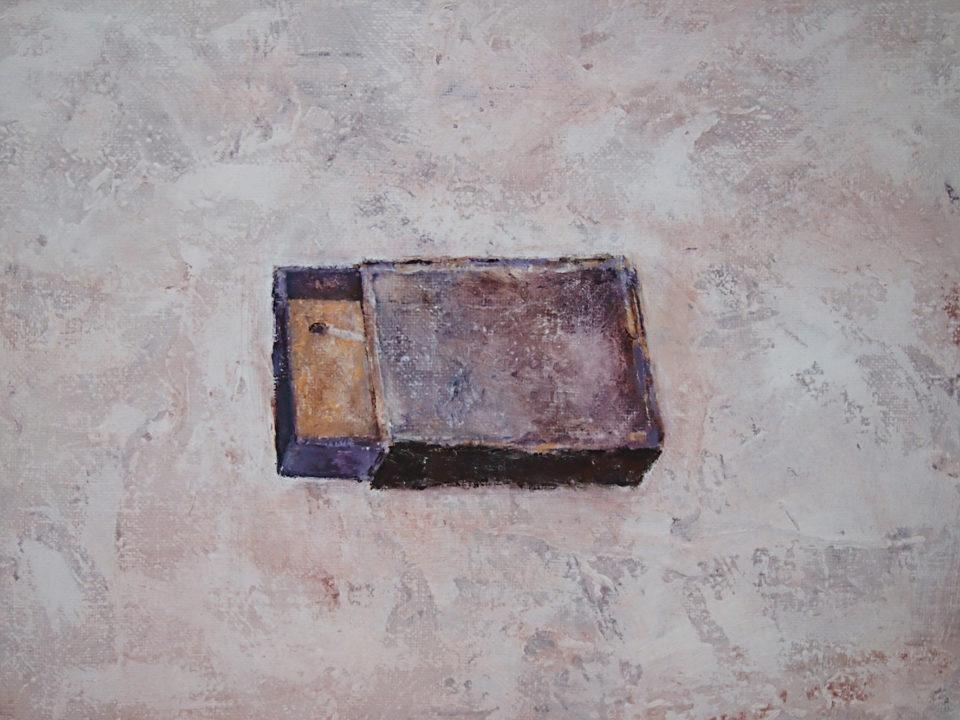 «Последняя», Радик Гарифуллин, 2015, холст, акрил, 45х60