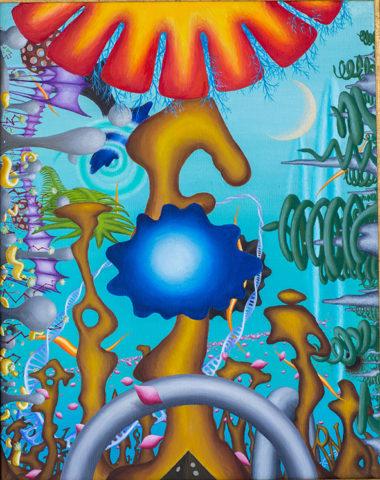«Формы», Руслан Ахунов, 2009, холст, масло