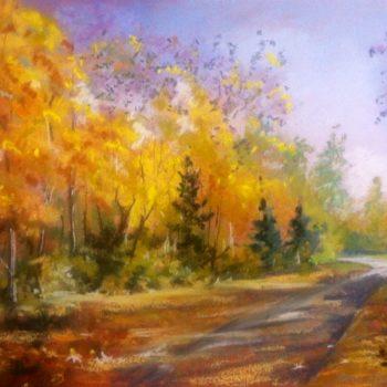 """""""Осень в парке лесоводов"""", Любовь Рыбак"""