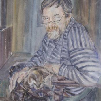«Портрет художника Алексея Королевского», Альберт Кудаяров