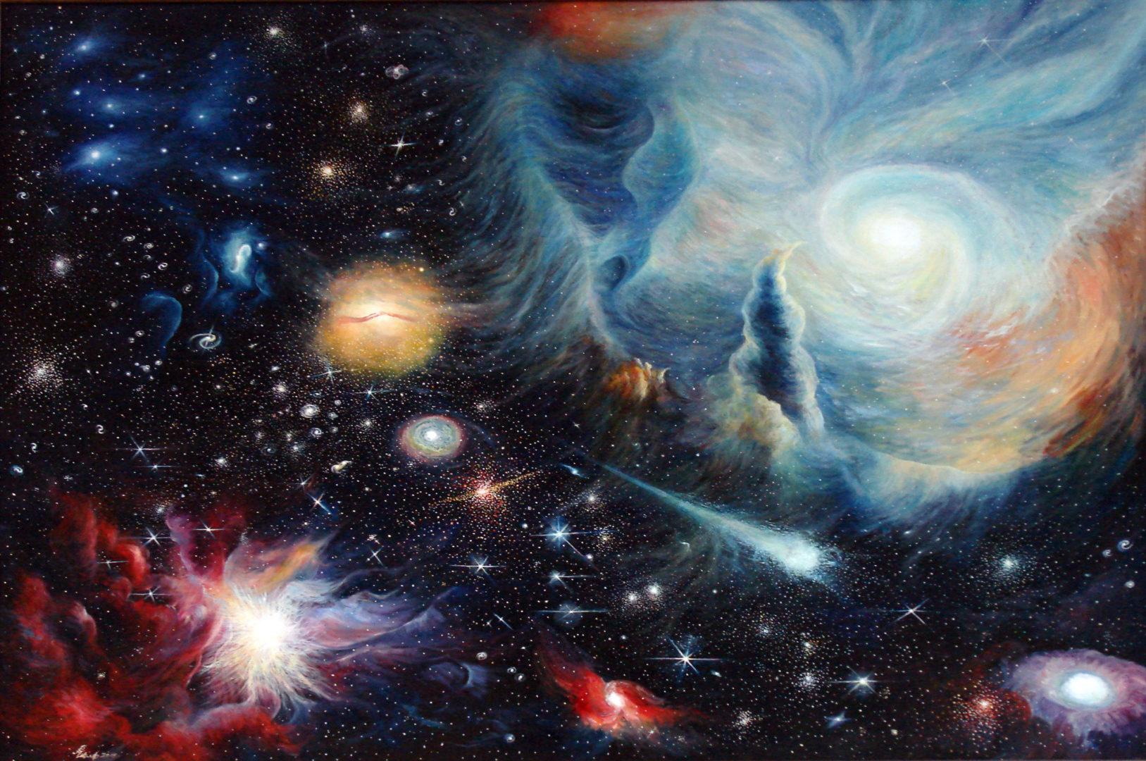«Вселенная», Дмитрий Павлов, 2010, холст, масло