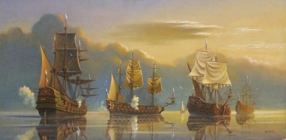«Петровская Балтика», Юрий Бычков, 1996, холст, масло