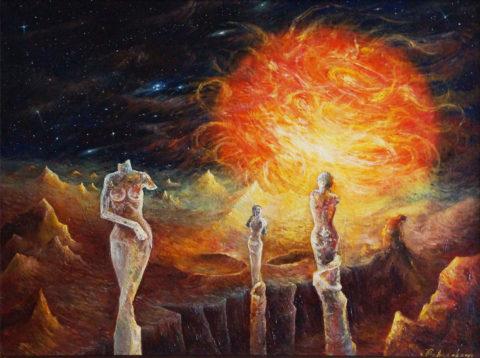 «Красная планета», Дмитрий Павлов, 2010, холст, масло