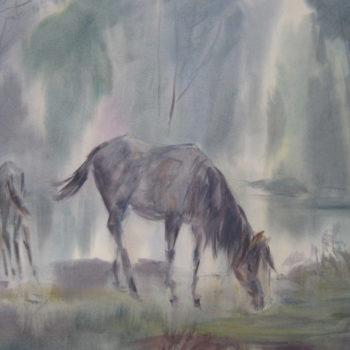 «Утро на реке Дёма», Альберт Кудаяров