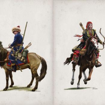 «Башкиры в 1812 г.», Азат Кужин