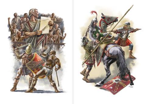 """«Древние войны», Азат Кужин, иллюстрации для голландского исторического журнала """"Ancient Warfare"""""""