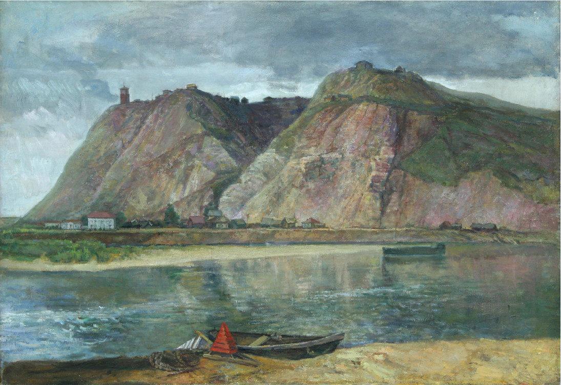 «Шиханы под Уфой», Александр Тюлькин (1888-1980), 1953, Фонд БГХМ им. М. В. Нестерова