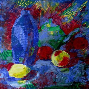 «Натюрморт с лимоном», Эльза Нафикова