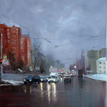 «Март. Улица Кувыкина», Ренат Сербин