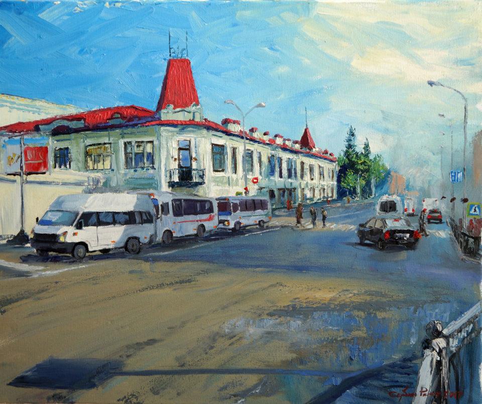 «Летнее утро», Ренат Сербин, 2017, холст, масло