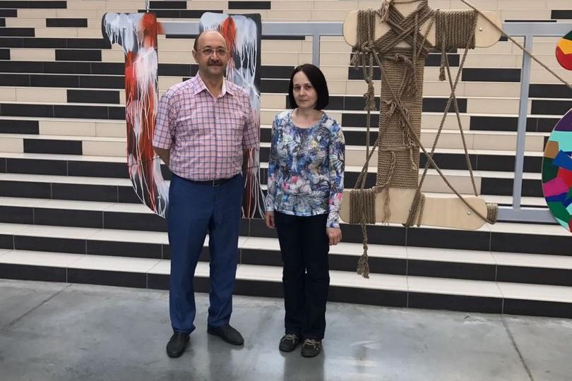 Наиль Махмутов и Мила Гатауллина