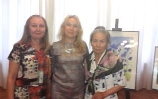 На выставке картин Фарита Бикбулатова