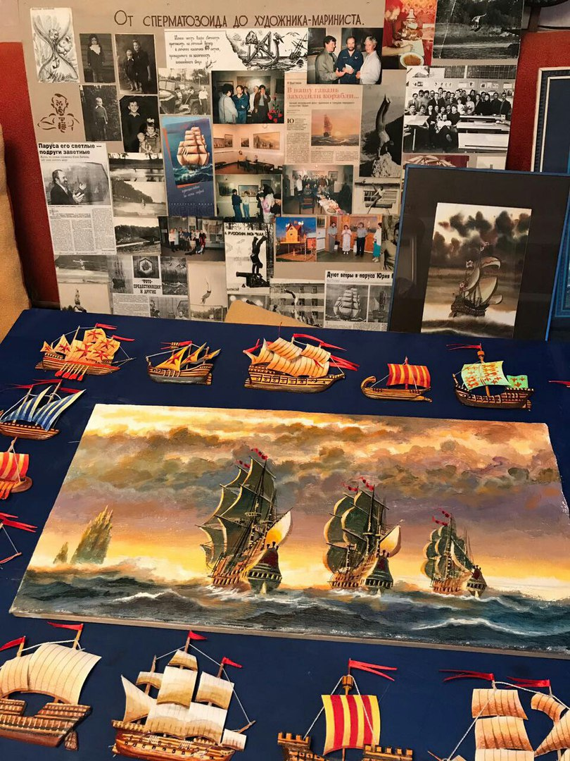 Беседы о море и об искусстве: Наиль Махмутов в гостях у художника Юрия Бычкова