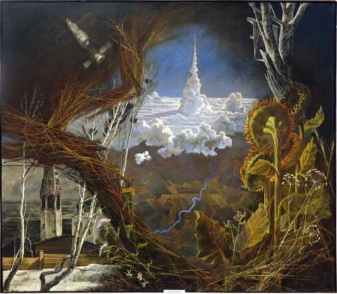 «Напутствие», Евгений Винокуров, 1986, холст, масло