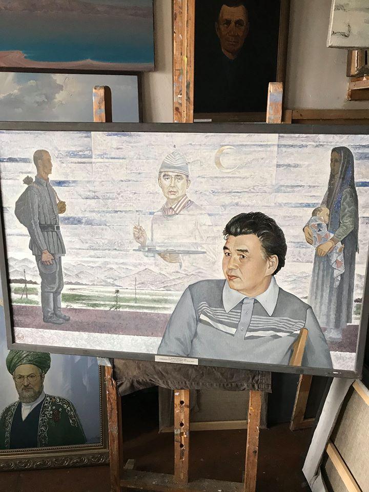 В гостях у художника Вакиля Шайхетдинова