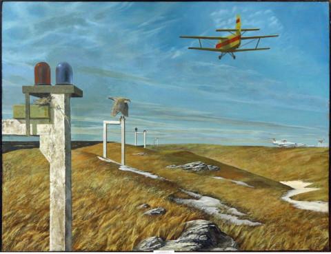 «Весенние полеты», Евгений Винокуров, 1984, холст, масло