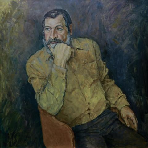 «Борис Лукьянов», Риф Абдуллин, 2010, холст, масло