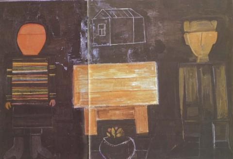 «Мунир и Мунира», Михаил Назаров, 1976, холст, масло