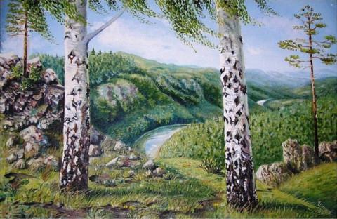 «Нугуш», Флёра Шарипова, 2000, двп, масло, 72х53