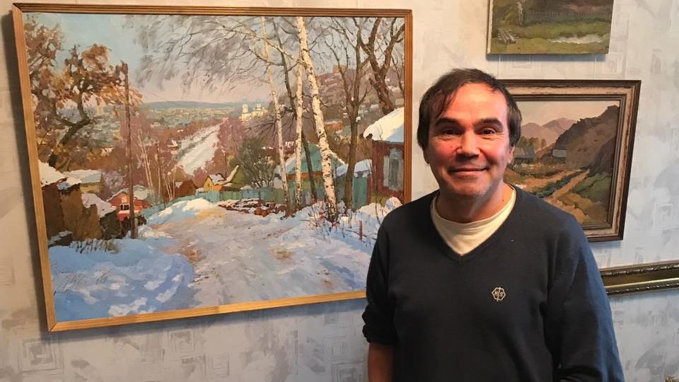 Знакомство с художником Ралифом Ахметшиным и его творчеством