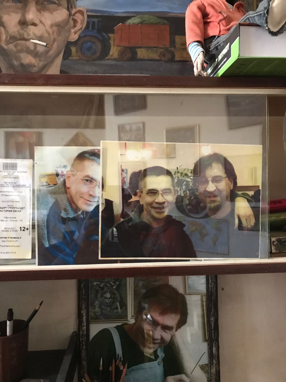 В гостях у художника Рамиля Латыпова