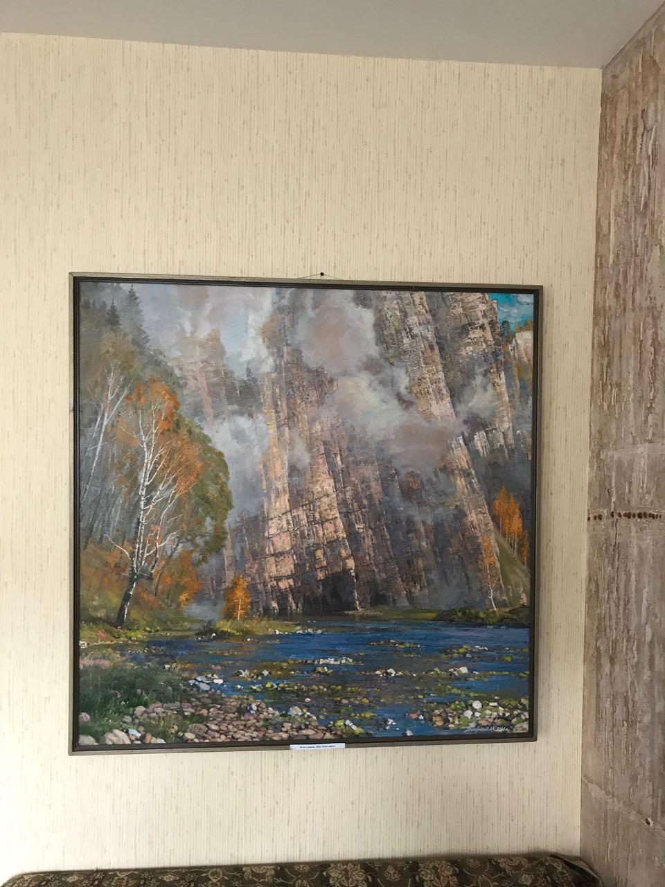 В гостях у художника Алексея Петрикова