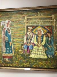 Открытие персональной выставки Фаниля Шаймухаметова в Ишимбайской картинной галерее 10 октября 2017 года