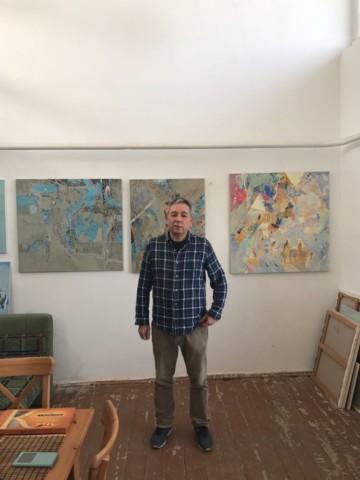 Встреча с художником Расихом Ахметвалиевым