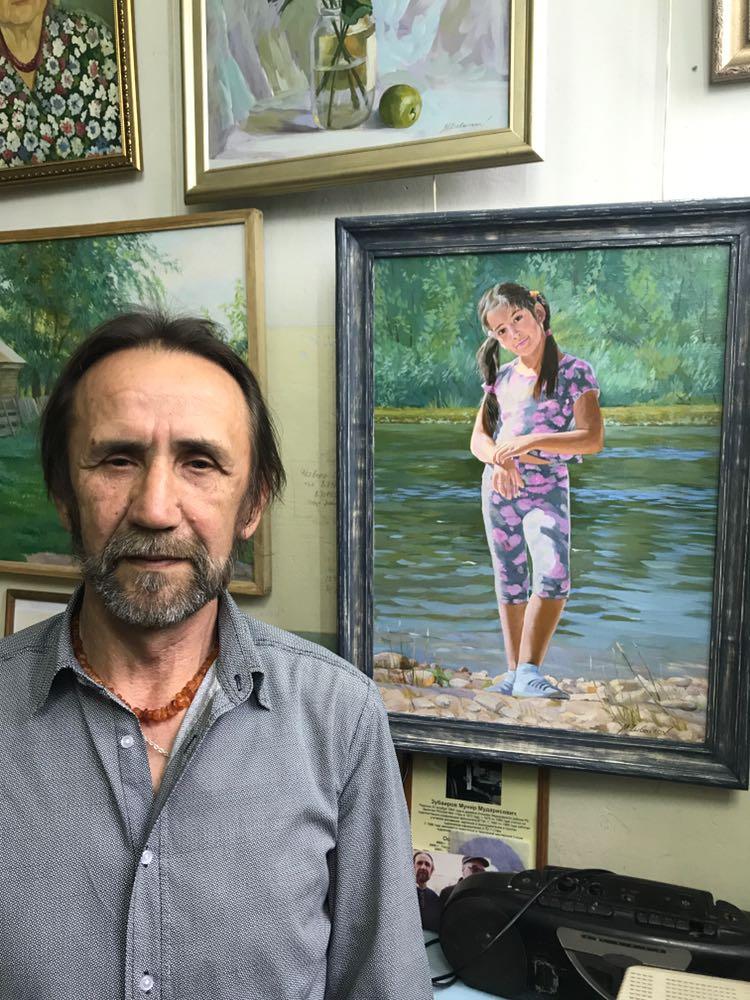 В гостях у художника Мунира Зубаирова