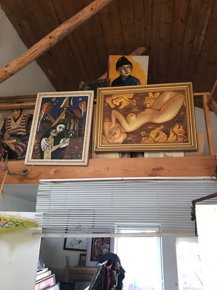 В гостях у художника Рафаэля Кадырова