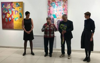 "На открытии выставки ""NEW"" Радика Гарифуллина"