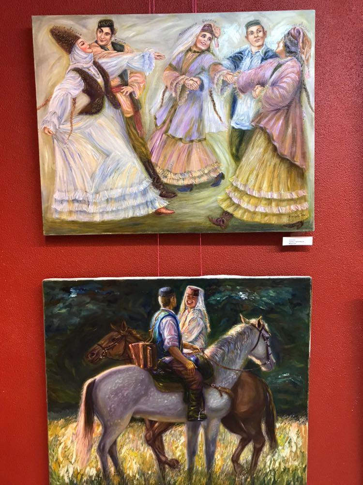 Открытие персональной выставки художника Эдуарда Шагеева