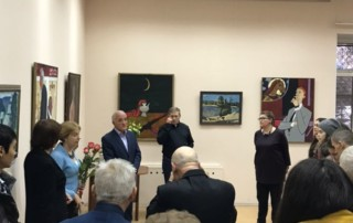 Открылась выставка работ художника Георгия Калитова