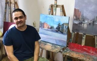 В гостях у художника Рената Сербина