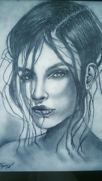 Юный башкирский художник Андрей Янбарисов поддерживает проект «Любимые художники Башкирии»