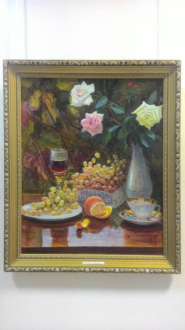 Открытие персональной выставки художника Виктора Кириченко