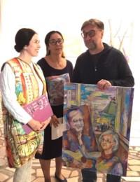 Открытие выставки художников 2 ноября 2017 года в рамках проекта «Вдоль Великого Шелкового пути»