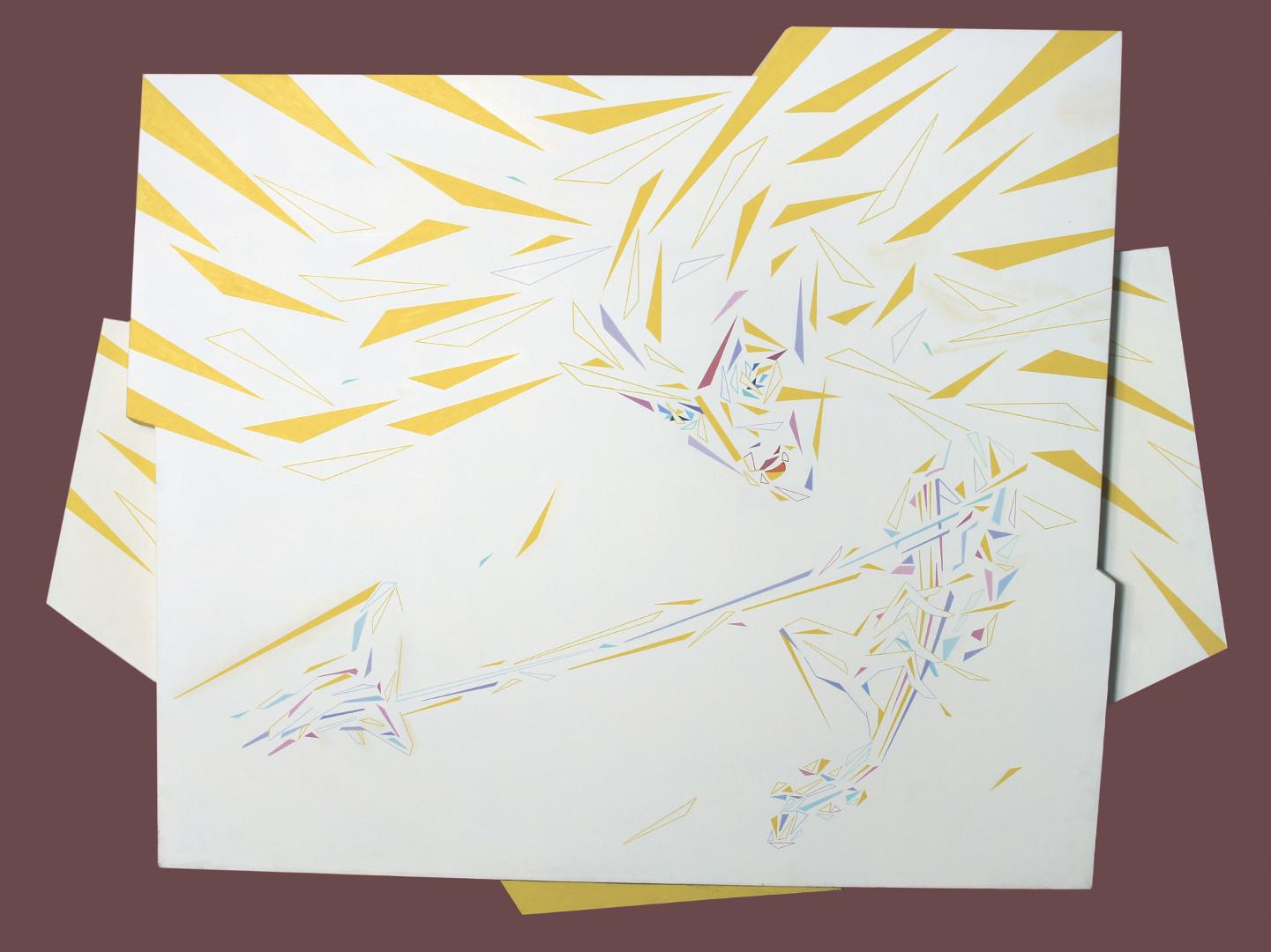 «Солнечный музыкант». 1997г. холст ,масло