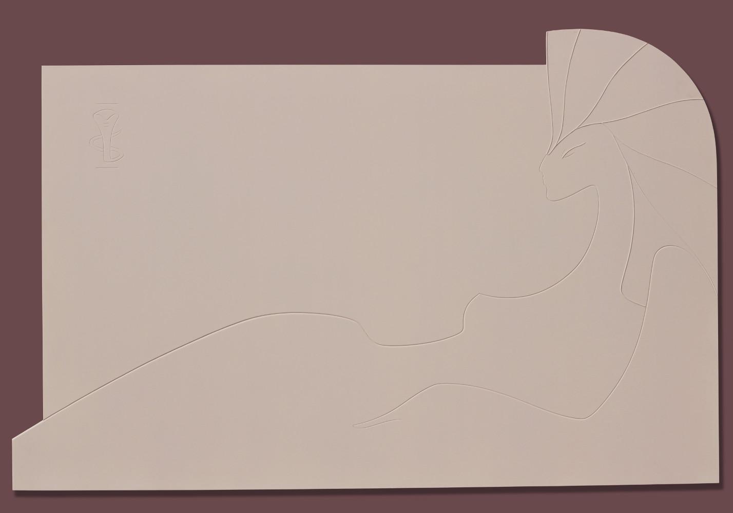 « Клеопатра» 2016 . Пластик 75 х116