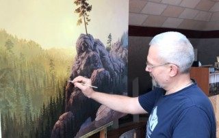 Творческий путь художника Александра Скорнякова