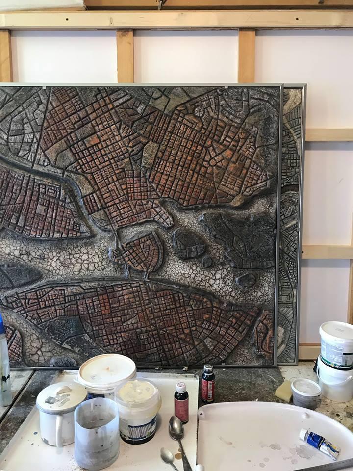 Знакомство с «геоглифами» в гостях у башкирского художника Рината Миннебаева