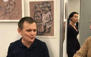 «Лицом к народу». Открытие персональной выставки Камиля Бузыкаева