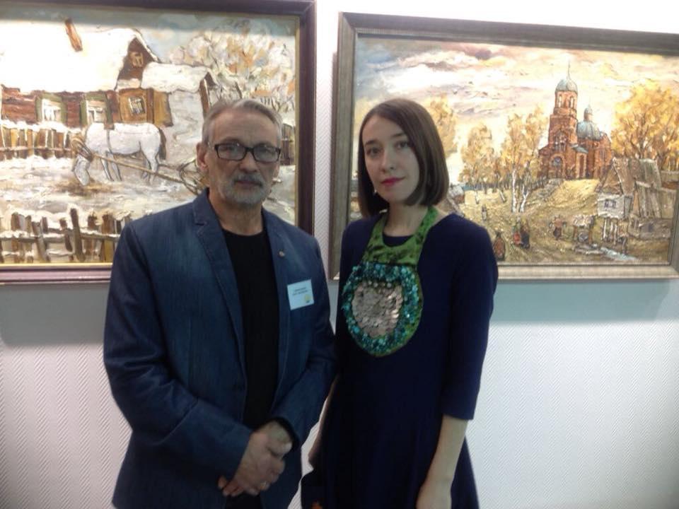 Открытие выставки башкирских художников в Республике Коми
