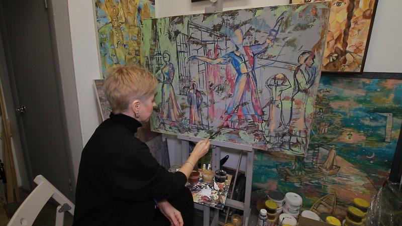 Художница Рушания Бадретдинова о зарубежных выставках и женском счастье