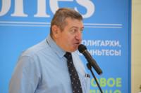 Владимир Кузьмичев на открытии галереи проекта «Любимые художники Башкирии» в ТРЦ «Планета»