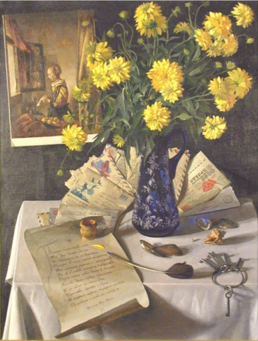 «Золотые шары», Сергей Маджар, 1994, холст, масло, 76,5х58