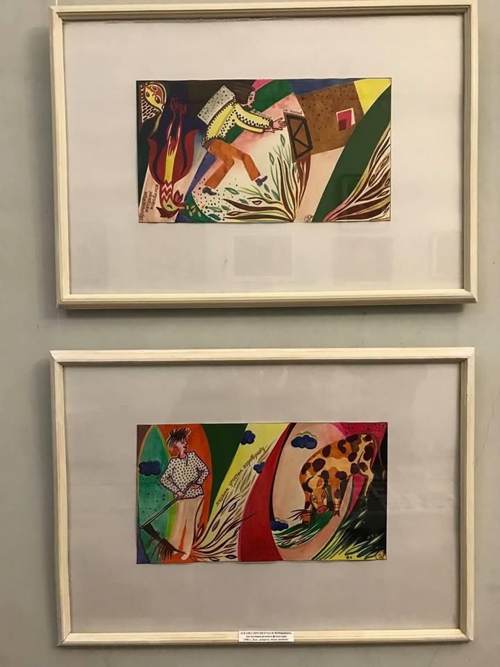 На выставке работ художницы Нины Сайкиной